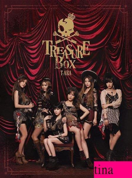 T-ARA 日版第二張日文專輯 Treasure Box [DIAMOND EDITION]鑽石初回限定版CD+DVD贈寫真集智妍