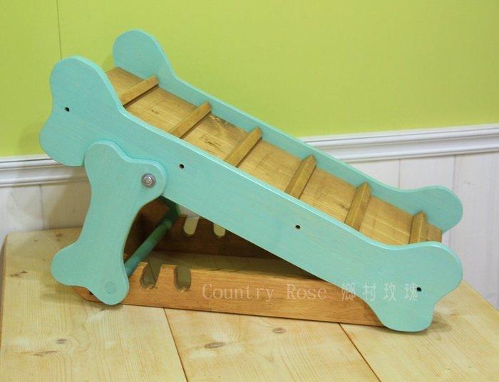 寵物樓梯 爬高木梯 小狗小貓 毛小孩專用 輔助樓梯 (鄉村玫瑰) 專利申請中 仿冒必究 申請案號103306240