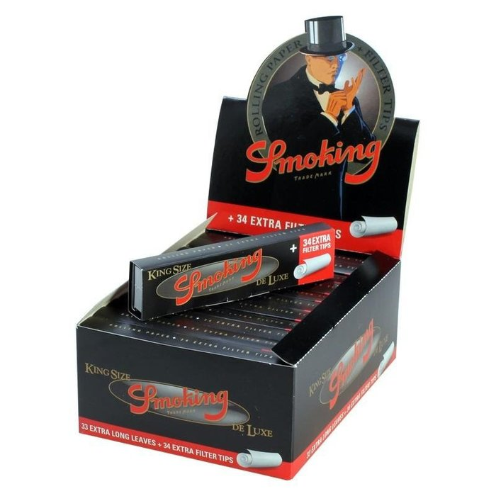 【Triple6】 西班牙 Smoking King Size 110MM 捲菸紙 附紙濾嘴 套裝