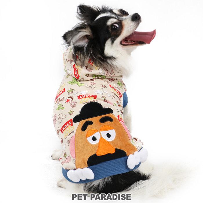 貝果貝果 日本 pet paradise 代理 DISNEY 玩具總動員 彈頭先生 漫畫連帽衫[D13169]
