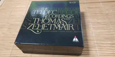 好音悅 Thomas Zehetmair The Teldec Recordings 15CD EU版
