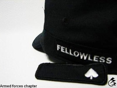 【 K˙F˙M 】Fellowless 10 Armed forces chapter Spade ARMY CAP 限時優惠折扣