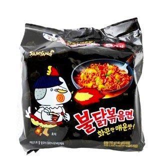 韓國三養 火辣雞肉風味炒麵 (5包入/袋)   小甜甜食品