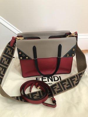 [小花美國購物代購] FENDI Flip FF logo 背帶 包包