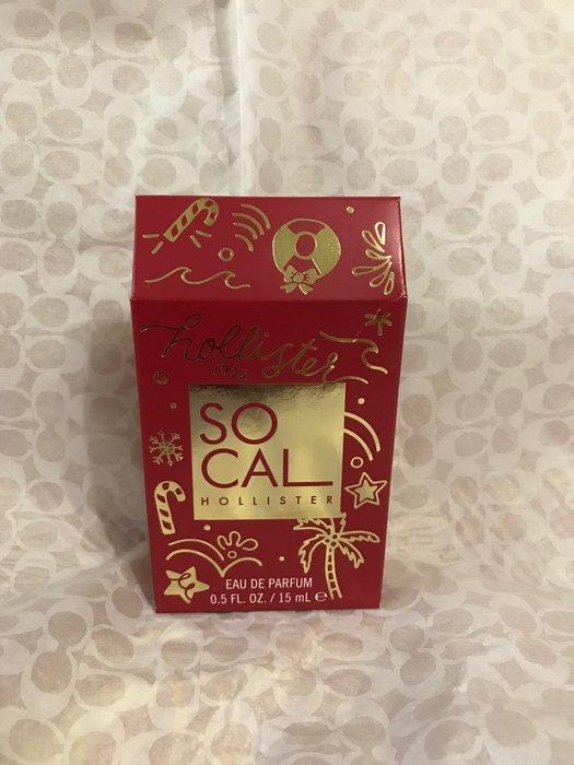【580含運】HOLLISTER Holiday Mini So Cal Perfume迷你香水15mL現貨抵台