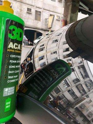 蠟妹小顏 3D ACA 500 X-TRA CUT COMPOUND 新世代拋劑 高效率 1L 專業首選