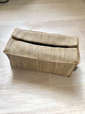 100%新【G好D】住好D tissue paper box 麻布質地紙巾盒(原價$280)