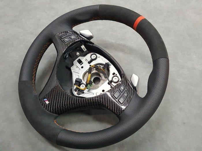 BMW 1系列方向盤編皮翻新(牛皮,麂皮)E87.135i.1M.120i.118i.E82.e92.F30.M3M4