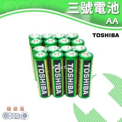 【鐘錶通】TOSHIBA 東芝-3號電池 (16入) / 碳鋅電池 / 乾電池 / 環保電池