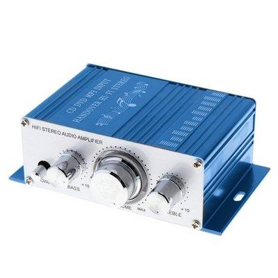 (含變壓器)Kentiger HY-2001家用迷你小型擴大機~電腦喇叭床頭喇叭擴大機~