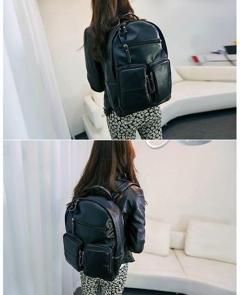 Cutie-Newbag【AA0474】韓國東大門秋冬新品時尚休閒雙肩包背包書包出清價299