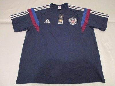 Adidas Russia national team t-shirt 俄羅斯足球國家隊 SZ:  XXL (2XL)