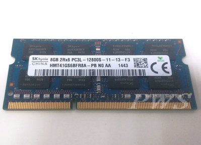 ☆【海力士 hynix PC3L-12800S DDR3-1600 DDR3 DDRIII 8GB 8G】☆台北市可面交☆