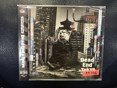 *愛樂新品*MAN WITH A MISSION / DEAD END IN TOKYO CD+DVD 全新 AA306