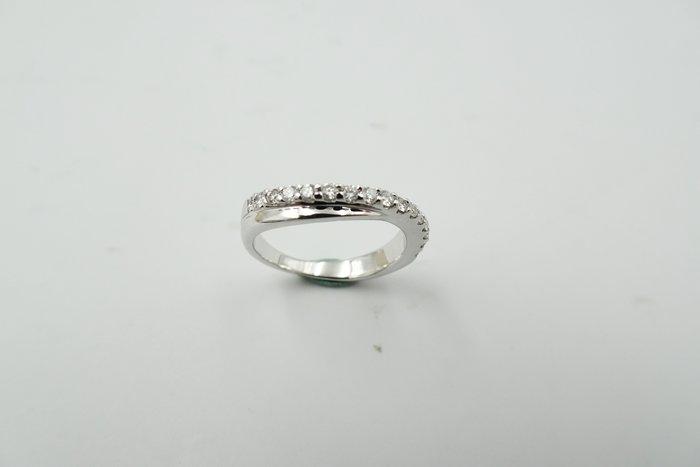 %玉承珠寶%天然鑽石14K金戒指A254尾戒(貴金屬買賣.珠寶設計訂做)