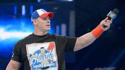 [美國瘋潮]正版 WWE John Cena HLR T-Shirt 江西南永不放棄之三信念長方型圖案最新款衣服熱賣中