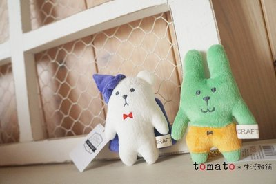 ˙TOMATO生活雜鋪˙日本進口雜貨CRAFTHOLIC萬聖節限定款南瓜兔子幽靈熊布偶吊飾