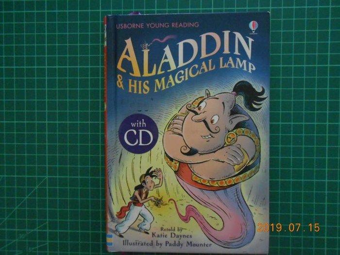 《 ALADDIN~~ 阿拉丁 》 附光碟 USBORNE 新經典文化【CS 超聖文化2讚】