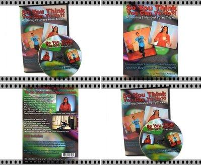 奇妙的溜溜球世界 So You Think You Can Yo-Yo 2A教學DVD 高手示範 快打迴旋招式入門&進階