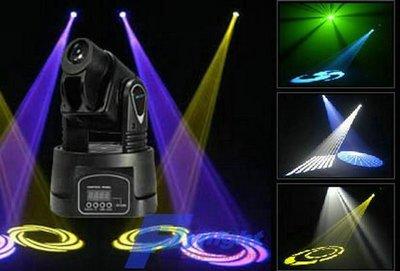 LED 搖頭燈(舞台燈光)~~KTV卡...