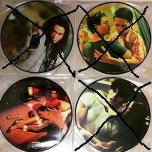 花樣年華In The Mood For Love OST LP Picture Vinyl圖案碟 黑膠 王家衛 梁朝偉 張曼玉 梅林茂 訂