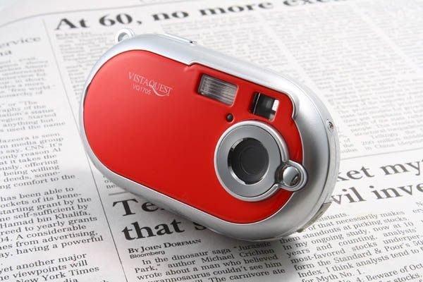 【eWhat億華】年末大出清 VISTAQUEST VQ1705 數位潮流相機 Lomo 可自拍 紅色 【3】