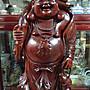 [1元起低價競標]紅檀木雕/ 重33.5公斤高82公...