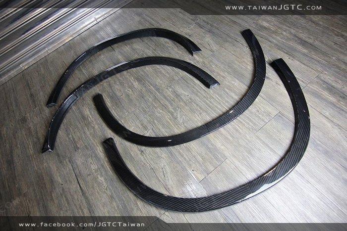 TAIWANJGTC GLC63 前後輪弧 碳纖維 CARBON 熱壓材質 空力套件