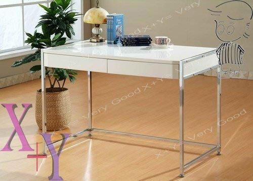 【X+Y時尚精品傢俱】DIY系列- 心情3.5尺白色書桌(不含活動櫃.書櫃)須自行組裝.摩登家具