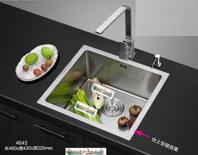 【yapin小舖】SUS304洗碗槽.水槽.洗菜槽.流理台水槽.不鏽鋼水槽.耐