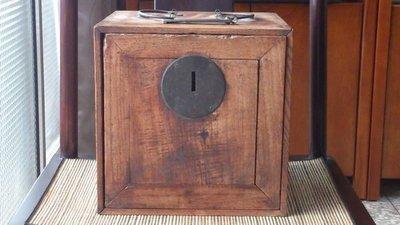[達古堂]  清  櫸木文玩箱