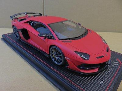 =Mr. MONK= 1/18 MR Lamborghini Aventador SVJ