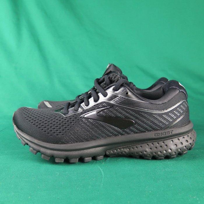 Brooks GHOST 12 平穩型 慢跑鞋 寬楦 1203051D040 女款 全黑【iSport愛運動】