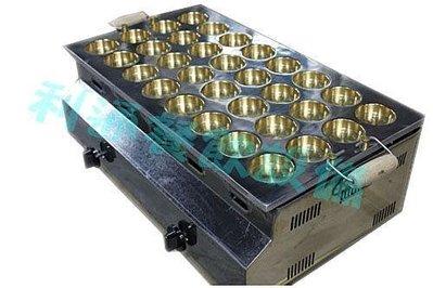《利通餐飲設備》紅豆餅爐-32洞 電子點火 方形 紅豆餅爐