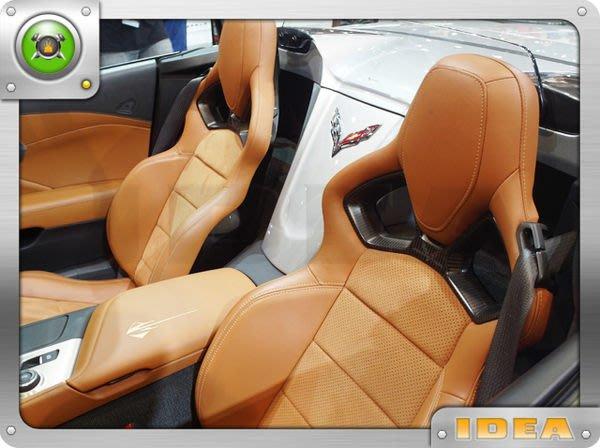 泰山美研社7663 CHEVROLET 雪佛蘭 CORVETTE 座椅客製化改裝
