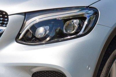 《※台灣之光※》全新BENZ賓士GLC X253 W253 C253 GLC美規鹵素升級類智慧型雙魚眼全LED大燈頭燈組