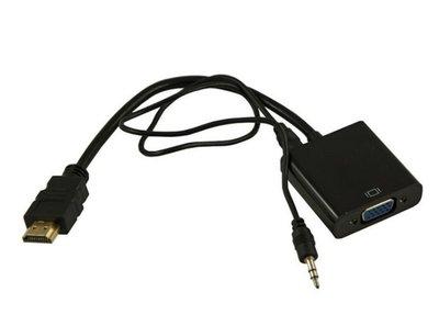 hdmi轉VGA轉接器(附音源線)