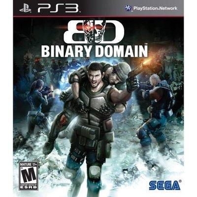 全新未拆 PS3 二元領域(二進程領域) Binary Domain -英日文美版-