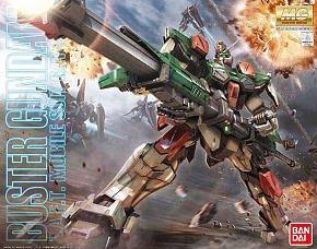 地球聯邦 -BANDAI MG 1/100 GAT-X103 Buster Gundam 翠綠暴風 鋼彈