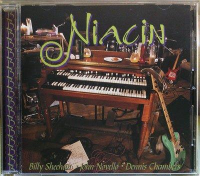 Niacin 同名專輯 日本先行發售盤 二手日版 /Billy Sheehan