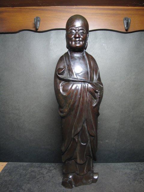 黃楊木雕◎ 如意羅漢