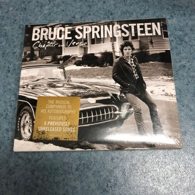 Chapter and Verse Bruce Springsteen 全新未拆封音樂CD@ba57160