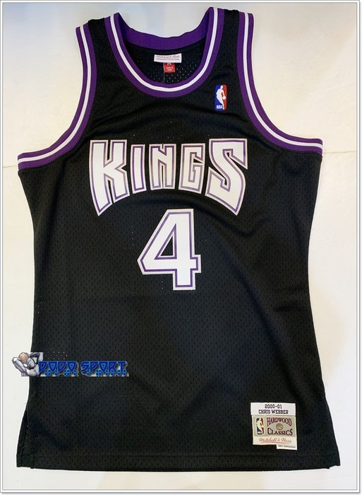╭*dodo_sport*╯mitchell & ness NBA 球迷版球衣Jersey - Chris Webber