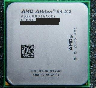 AMD Athlon 64 X2 6000+ 3.0G ADX6000IAA6CZ AM2腳位 $200