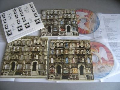 Led Zeppelin 齊柏林飛船 -- Physical Graffiti (2CD) 紙殼版