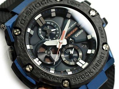 CASIO G-SHOCK GST G-STEEL series GST-B100 GST-B100XB-2A 藍色 樹脂錶帶 GSHOCK GSTB100XB