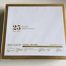 絕版 安室奈美惠 Finally 1992-2017 Best Album 25週年全精選 台版初回豪華紙殼3CD版