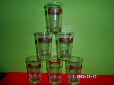 早期金台豐水杯*6個一起賣