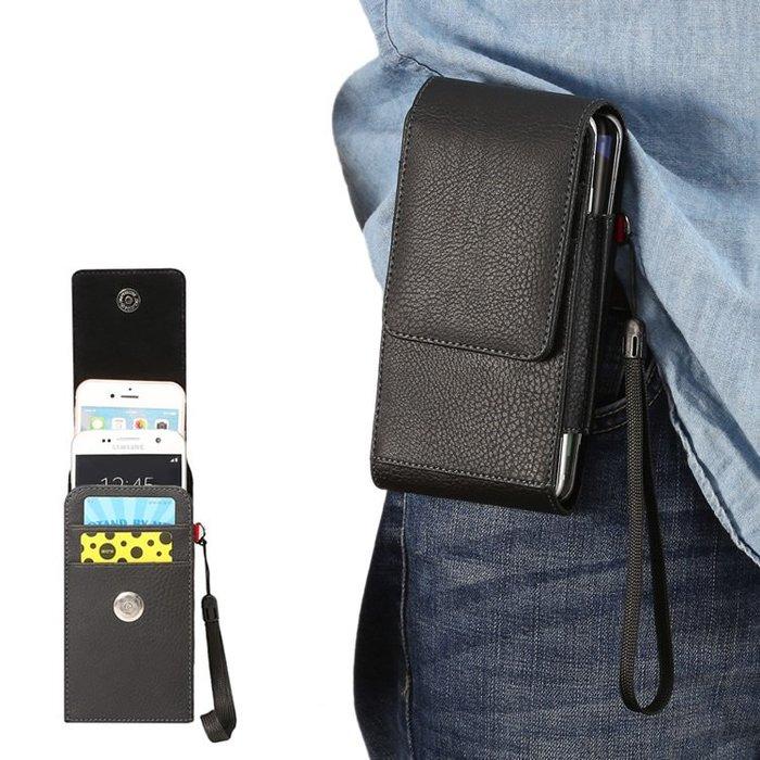 通用手機套 HTC 華為nova3e裝兩手機皮套2S掛腰包暢享8手機包p20皮套袋夾皮帶式男