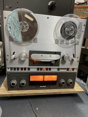 STUDER A67 Reel-to-Reel STEREO TAPE RECORDER 立體聲盤帶機